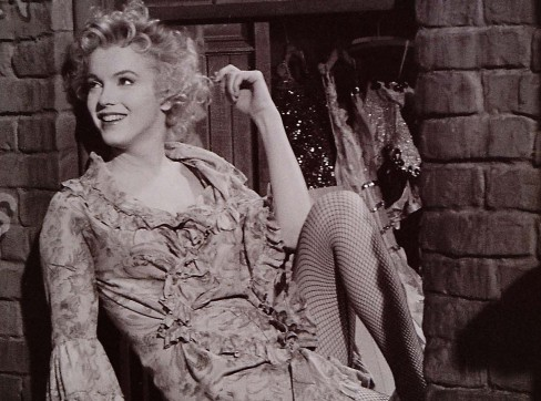 Marilyn in a scene of the movie Bus Stop (1956). Photograph by Milton Greene. Copyright owner: Ted Stampfer